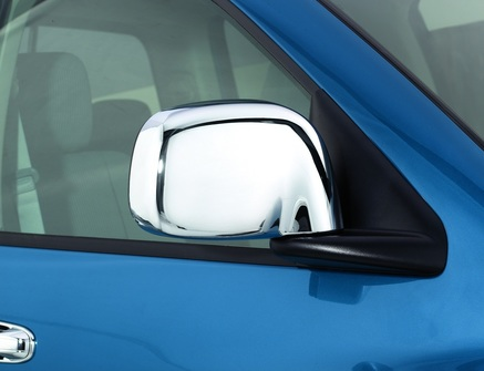 AVS Chrome Door Mirror Covers