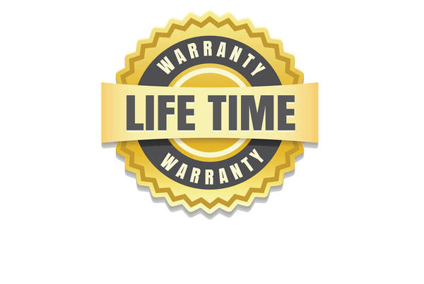 Limited life time warranty
