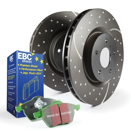 EBC Brakes S10 Greenstuff 2000 and GD Rotors Kit