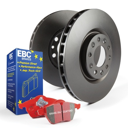 EBC Brakes S12 Redstuff and RK Rotors Kit