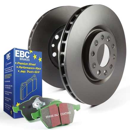 Rear Evora Grooved Brake Discs to fit Nissan 200 SX S13