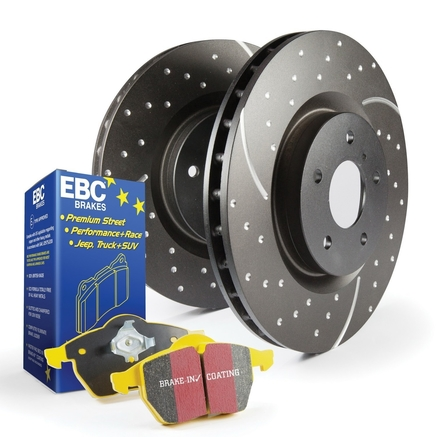 EBC Brakes S5 Kits Yellowstuff and GD Rotors Kit