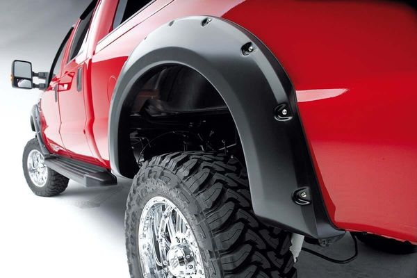 Extra coverage for oversize tires