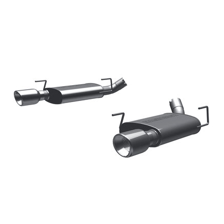 MagnaFlow Street Series Stainless Axle-Back Exhaust System
