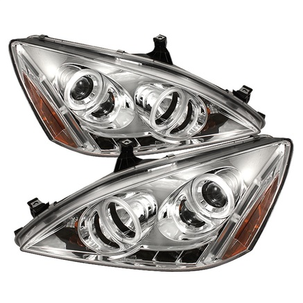 Spyder CCFL Halo LED Projector Headlights
