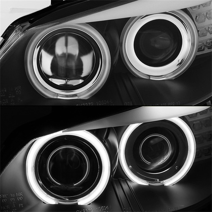 Spyder CCFL Halo Projector Headlights