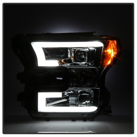Spyder DRL LED Projector Headlights