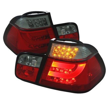 Spyder Light Bar Style LED Tail Lights