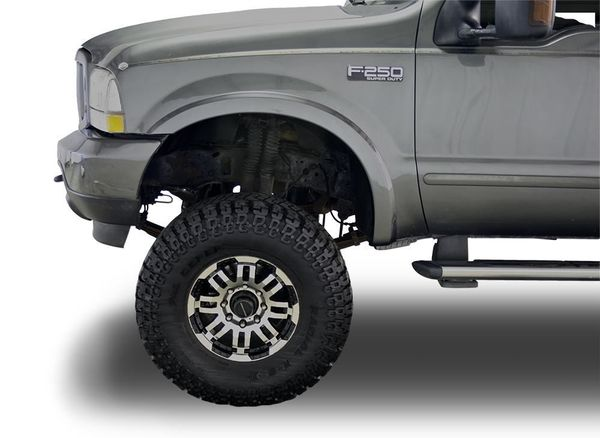 Sufficient coverage for oversized tires