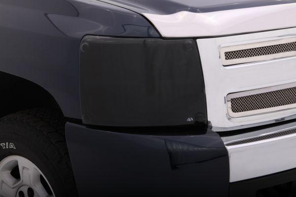Impact-resistant headlight covers