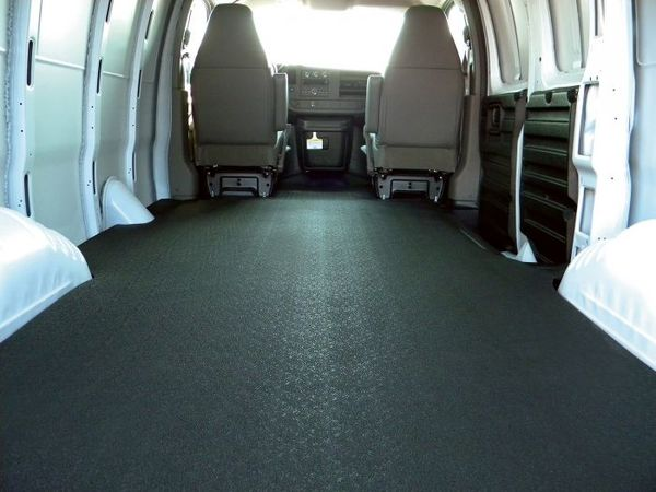 Anti-skid rubber surface