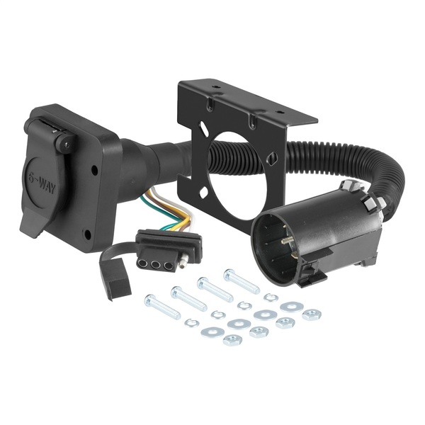 OEM vehicle to trailer connector and harness