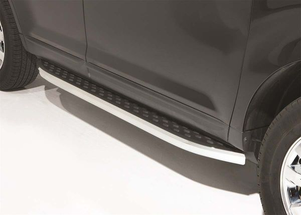 Crossover vehicle running boards