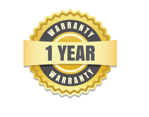 One year limited warranty