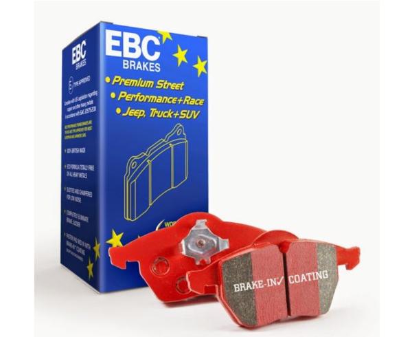 Low dust brake pads