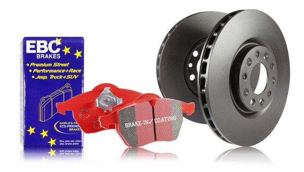 S12 Redstuff and RK Rotors Kit