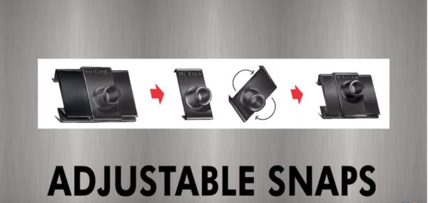 Adjustable snaps