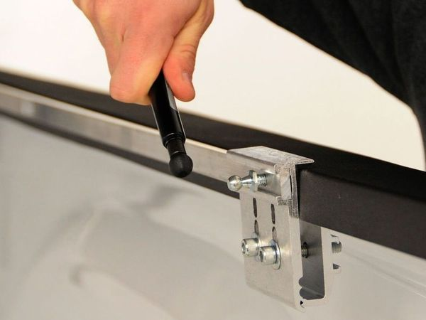 Easy no-drill installation
