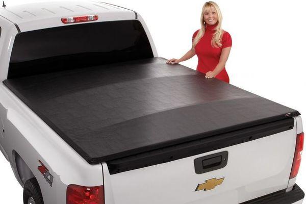 Soft roll-up tonneau cover