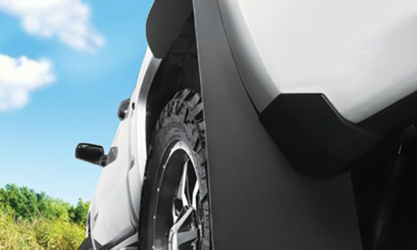 Wide Coverage Protective Mud Flaps