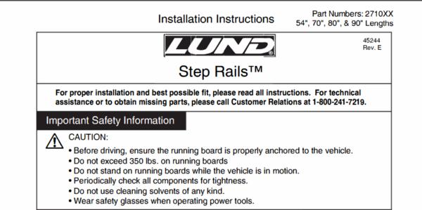 No-drill installation