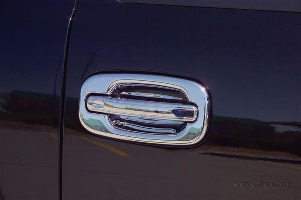 Putco 400095 Chrome Rear Door Handle Cover for Select Toyota Models