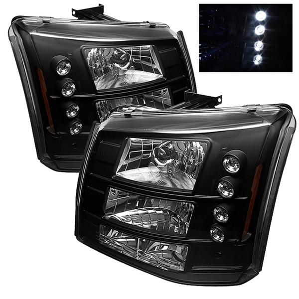 High-performance crystal headlights