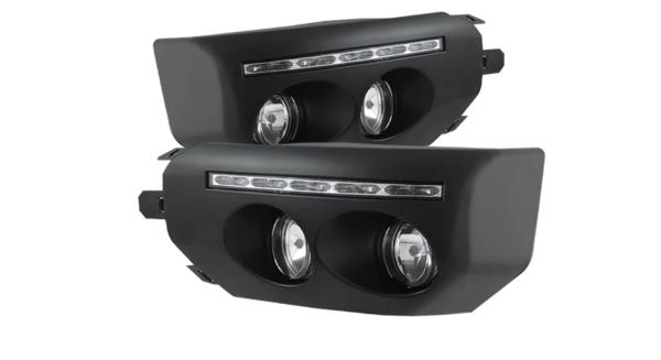 LED Fog Lights with DRL
