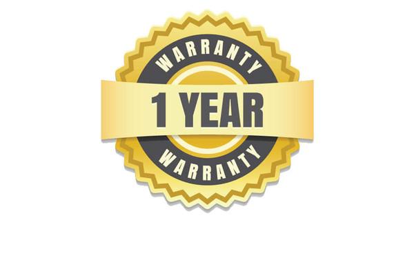 1-year warranty