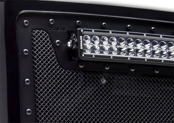 Stealth Metal Bumper Grille Overlay