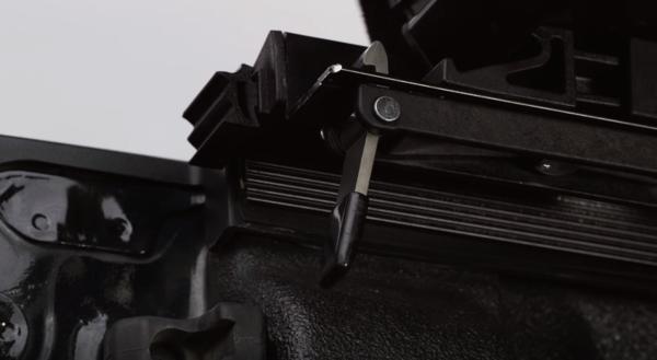 Anodized single trigger latch