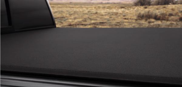 High quality matte black fabric