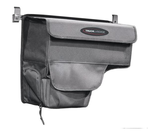 Has an exterior pocket