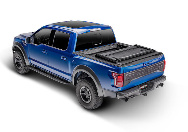 Roll-up and hinged tonneau cover