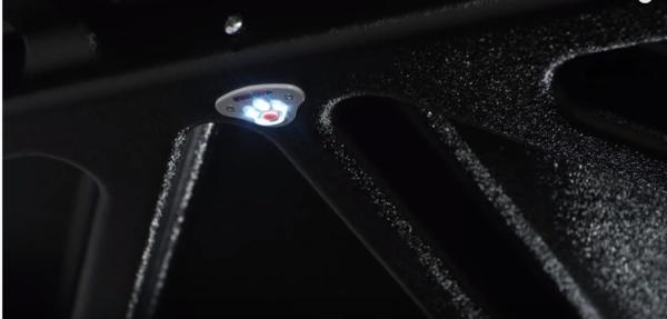Battery-powered LED light