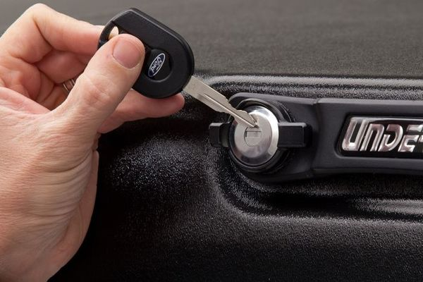 Uses truck's ignition key