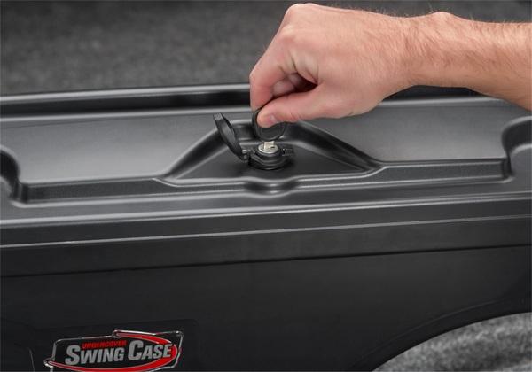 Key-lockable lid