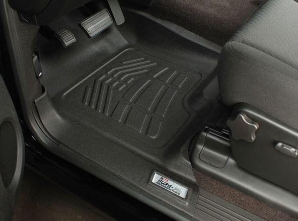 Sure-fit floor mats