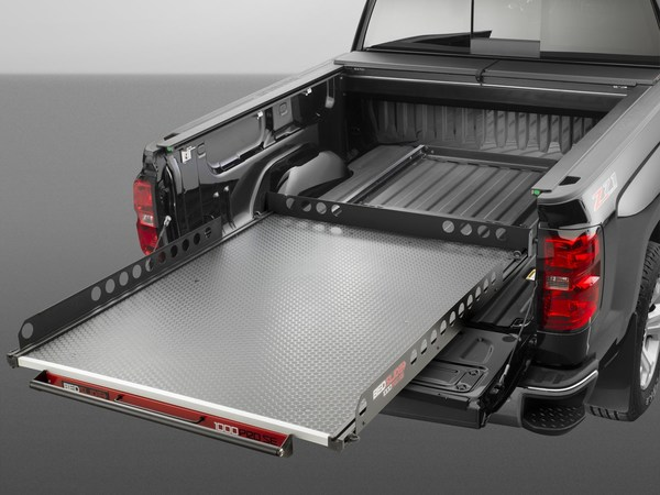 Matches the contours of your truck bed