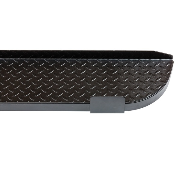 Removable anti-skid step plate