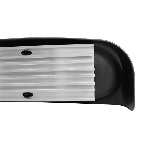 Strong aluminum baseboard