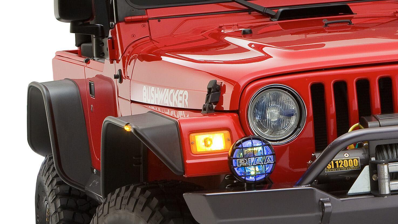 bushwacker flat fender flares for jeeps