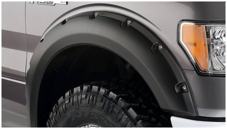Bushwacker Fits 09 14 Ford F 150 20929 02 Pocket Fender Flares Fuel Filter 2010