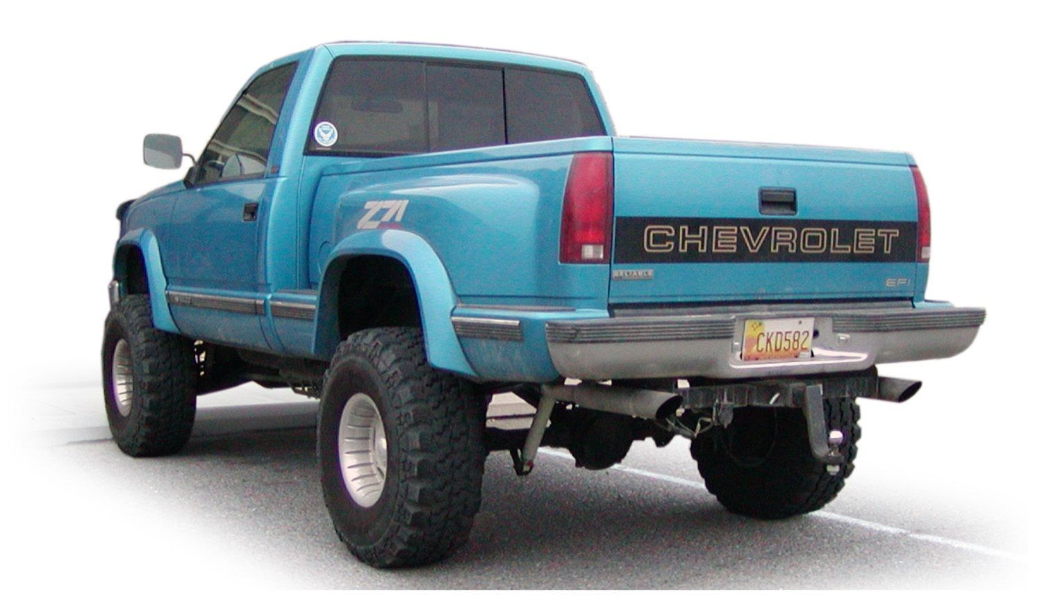 Bushwacker Fits Chevrolet Gmc 40012 01 Extend A Fender