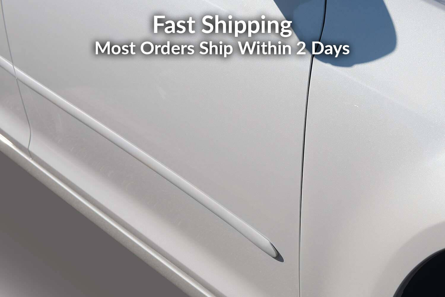 Car Door Molding Set - Paint Color Matched Door Guards
