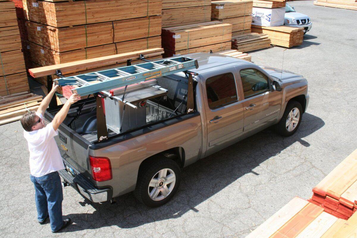 bakflip cs-f1 contractor tonneau cover - bak bed cover
