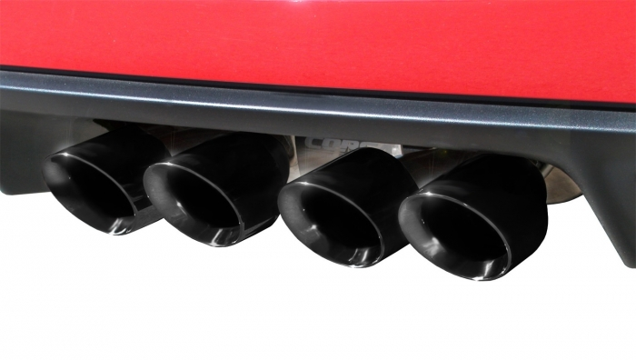 Corsa 14469CB6BLK Xtreme Cat-Back Exhaust System