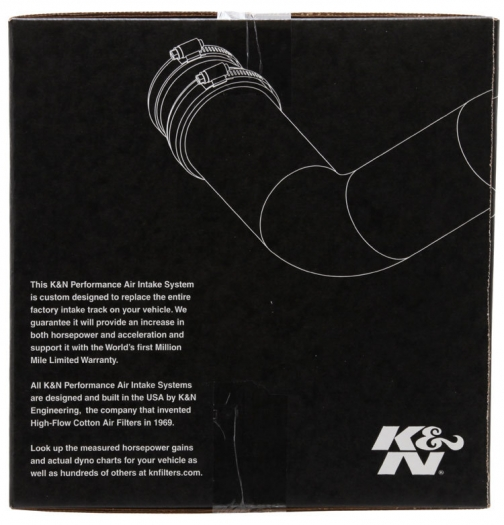 K&N 69-1506TS Engine Cold Air Intake Performance Kit
