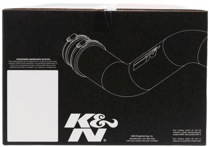 K&N 63-6020 Engine Cold Air Intake Performance Kit