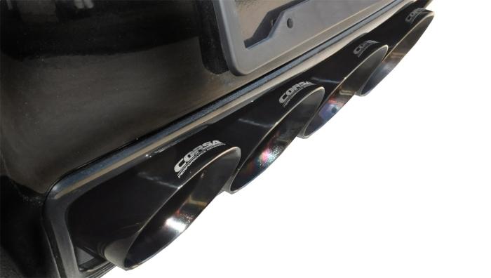 Corsa 14766CBBLK Xtreme Cat-Back Exhaust System
